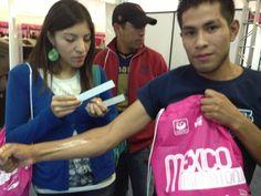 En Expo Maratón los corredores con tatuaje Manpower