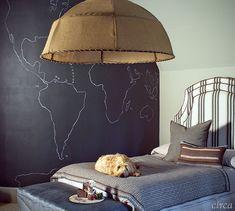 Circa - enchanting boys bedroom - love it!