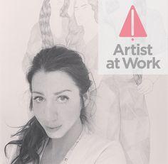 Entrevista minha no Turn to Art Juliana Cordaro: Artist At Work #julianacordaro #artistatwork #art #turntoart