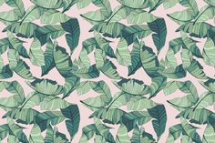 When it comes to latest interior trends, you will never go wrong with this Pink and Green Tropical Wallpaper.