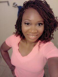 Twist Braids Hairstyles Image Result For Short Senegalese Twist  Braid Ideas  Pinterest