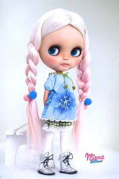 DRESS for Blythe Doll by Miema Dollhouse by miema4dolls on Etsy