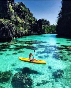 Kayaking in Palawan - Philippines | tag someone who would love this  - Add the.luxurylife on Snapchat . - Do not forget to Turn on Post Notifications. - Checkout our blog at http://ift.tt/2bL6bXE #theluxurylife By @bieljuste  via LUXURY LIFE MAGAZINE OFFICIAL INSTAGRAM - Luxury  Lifestyle  Culture  Travel  Tech  Gadgets  Jewelry  Cars  Gaming  Entertainment  Fitness