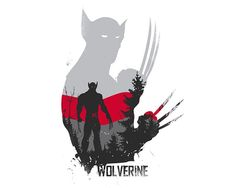 Wolverine Poster Design - Superheroes geek Wall art print - Available in different sizes. Marvel Wolverine, Wolverine Tattoo, Wolverine Poster, Marvel Comics, Logan Wolverine, Bd Comics, Avengers Characters, Avengers Art, Superhero Silhouette