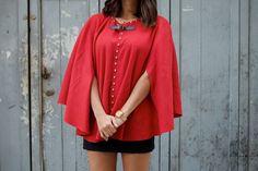 Couture : Tutos capes & ponchos (2) - Le blog de mes loisirs