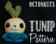Tunip the Vegimal from The Octonauts - adorable crochet pattern! Crochet for Days | My feeble attempt to create at least one crochet piece and pattern a week. #Amigurumi