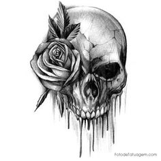 Resultado de imagem para caveiras tattoo