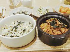서울 스퀘어  산나물밥과 제육볶음