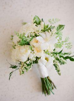 Jose Villa | Allison Becker & Nicholas St. Clair Of Flower Allie | Soft Yellow, Ivory, Greenery