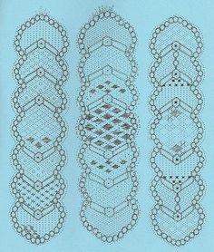 marcapaginas-záložky - heli - Patterns for bobbin lace bookmarks Lace Art, Bobbin Lace Patterns, Lacemaking, Parchment Craft, Lace Jewelry, Plastic Canvas Crafts, Needle Lace, Lace Embroidery, Tatting