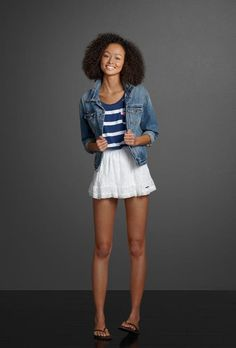 Spring outfit ~ Abercrombie