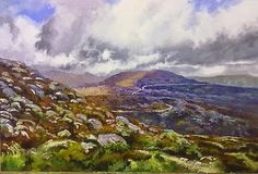 #15 -     THE SWARTBERG PASS . 600 x 900mm (24 x 36 inches)  - oils and brush on board-
