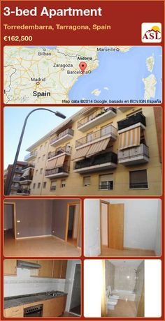 3-bed Apartment in Torredembarra, Tarragona, Spain ►€162,500 #PropertyForSaleInSpain