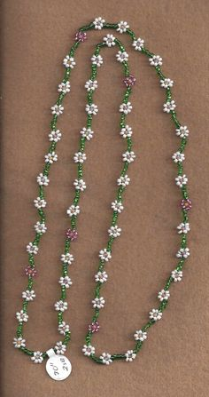 Daisy Chain Necklace by SnowRabbitDesigns on Etsy. ~  ♡ HOW SWEET!!!  ♥A