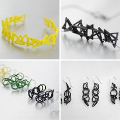 Hot Pop Factory, Torontos 3D Printing Jewellery Designers, Have Amazing New Designs - Shedoesthecity