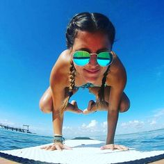 Great pose, sup yoga✨ #yogaphotography