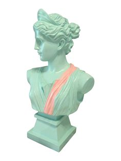 Upcycled Greek Goddess Bust