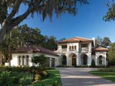 exterior colors for mediterranean style home - Yahoo Image Search Results