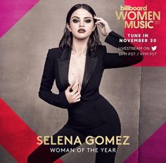 "Promotional photo of Selena Gomez for the award ""Billboard: Women In Music"" where she will be awarded the prestigious ""woman of the year"". The ceremony will take place on November 30. #selenagomes #celebrity #famous #star #cool #great #perfect #singer #actres #dancer #promotionalphoto #billboardwomeninmusic #womanoftheyear #november30 #hot #pretty #cute #lovely #nice #followme #beautiful #commentme #likeme"