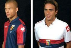 Genoa CFC 2014/15 Lotto Home and Away Kits