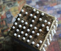 Vintage Cube of Glass Pins by CaityAshBadashery on Etsy, $13.95