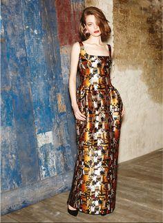 Paule Ka print dress