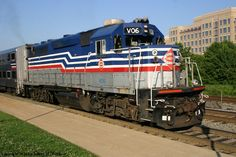 VRE (Virginia Rail Express) Commuter Train, took this train to work, great way to travel