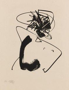 justanothermasterpiece:    Antonio Saura.
