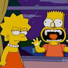 Simpson Wallpaper Iphone, Sad Wallpaper, Cartoon Wallpaper, Iphone Wallpaper, The Simpsons Movie, Simpsons Quotes, Simpsons Art, Bart And Lisa Simpson, Homer Simpson
