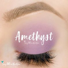 Amethyst ShadowSense is a matte, soft lavendar cream to powder eyeshadow color by SeneGence.  #mocajava #eyeshadow #shadowsense #senegence #matte