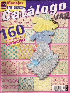 http://revistasgratisdecrochetytejidos.blogspot.com.br/2015/03/clases-de-puntos-para-crochet.html