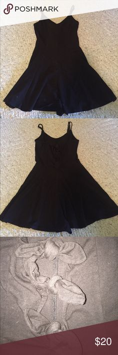 Urban Outfitters Black Romper with Bows on Back Cute romper from Urban Outfitters with 3 bows on the back. Straps are adjustable. In excellent condition! 95% cotton 5% spandex. Open to offers! Urban Outfitters Pants Jumpsuits & Rompers
