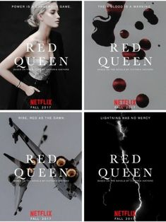 """off-with-the-red: """"My very first post blew way out of the water, the queen even reposted it herself! So here are some other posters I found of the Netflix orginal series """"Red Queen"""". Victoria Aveyard Books, Red Queen Victoria Aveyard, Red Queen Costume, Red Queen Book Series, Darkside Books, Glass Sword, World On Fire, Book Fandoms, Book Nerd"""
