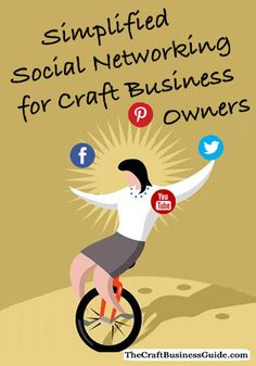 Here's how to develop a manageable, simplified social media marketing strategy for your craft business. http://www.craftprofessional.com/social-media-marketing-simplified.html