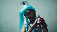 Nurse Jinx (League of Legends) Cosplay by Marty Novotna FB page: facebook.com/MartyCosArt Photo by Ten KWS