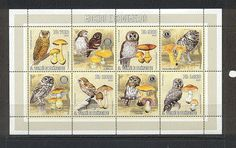 Sao Tome 2006 OWLS/FUNGI/Rotary/Lions sht (n18395) in Stamps   eBay
