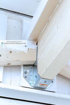 Glassveranda: Vi skal bygge pergola - Del 5: Vi snekrer tak og monterer takplater!