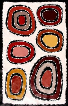 http://www.ebay.com.au/itm/Aboriginal-Art-by-Sally-Clark-60cm-X-on Ebay