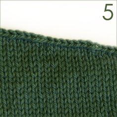 A smooth stair stepped bind off tutorial