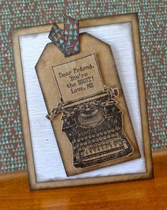 Scrap Stamp Share: Typed Note- CTMH April Stamp of the Month Australasian Blog Hop