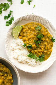 Yellow Split Pea, Kale & Potato Curry (vegan)