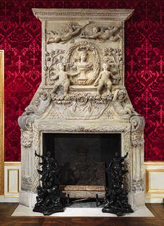 Not really a fan of Baroque. Chimneypiece [Southwest France] and Jean Le Pautre: Design for a chimneypiece, from Cheminées à la Romaine (56.234.34,33.84.1) | Heilbrunn Timeline of Art History | The Metropolitan Museum of Art