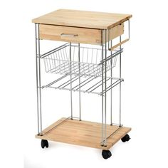 Picture showing ARIS GRAND CHEF Kitchen Trolley, Natural