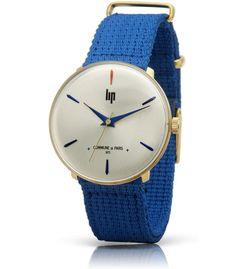 montre panoramic commune de paris 1871 bracelet nylon bleu 18729212