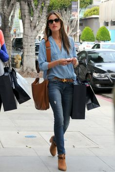 Alessandra Ambrosio has great street style!