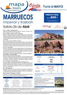 Marruecos Imperial y Kasbah Puente de Mayo 26 Abril **Precio Final desde 809** ultimo minuto - http://zocotours.com/marruecos-imperial-y-kasbah-puente-de-mayo-26-abril-precio-final-desde-809-ultimo-minuto-4/