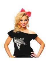 Fierce Star Printed T-Shirt - Party City