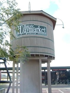 The Haymarket...they have an awesome farmers market every Saturday morning in the summer.