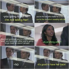 Love Diana's reaction! White Collar