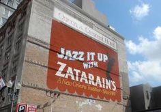 Zatarain's mural on Poydras Street in New Orleans. by alta